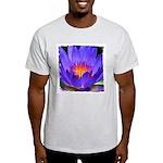 Purple Lily Ash Grey T-Shirt