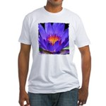 Purple Lily Fitted T-Shirt