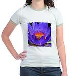 Purple Lily Jr. Ringer T-Shirt