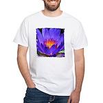 Purple Lily White T-Shirt