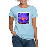Purple Lily Women's Pink T-Shirt