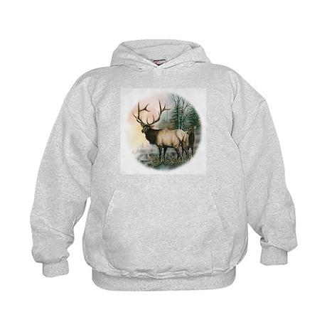Elk II Kids Hoodie