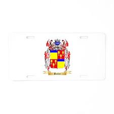 Butler Aluminum License Plate