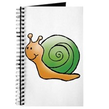 Orange and Green Snail Journal
