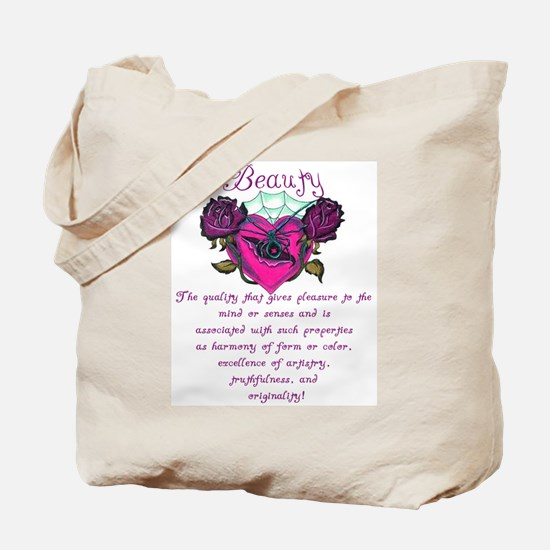 Beauty Is In The Heart Tote Bag