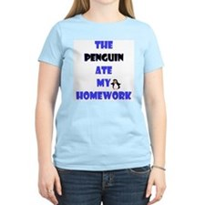 Homework Excuse Women's Pink T-Shirt