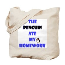 Homework Excuse Tote Bag