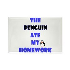 Homework Excuse Rectangle Magnet