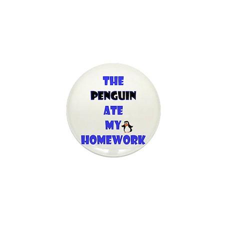 Homework Excuse Mini Button