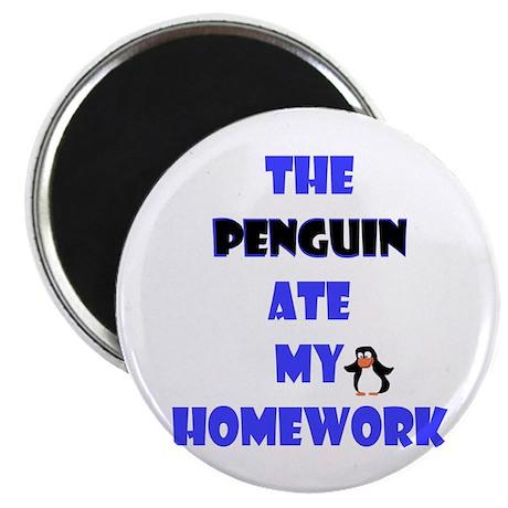 "Homework Excuse 2.25"" Magnet (10 pack)"