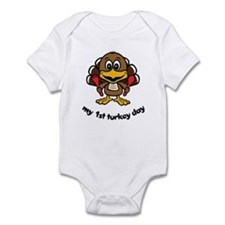 My First Turkey Day Infant Bodysuit