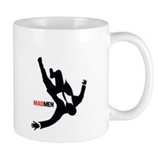 Falling Mad Men Small Mug