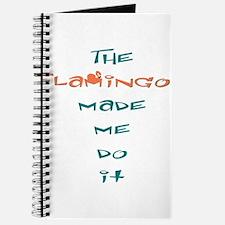 Blame the flamingo Journal