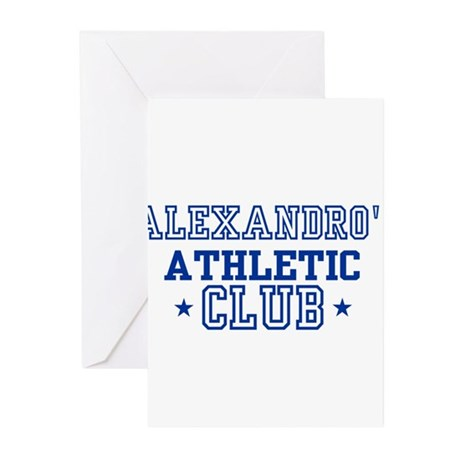 Alexandro Greeting Cards (Pk of 10)