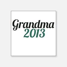 Grandma 2013 Sticker