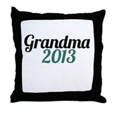 Grandma 2013 Throw Pillow