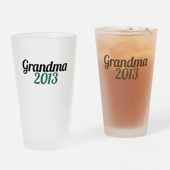 Grandma 2013 Drinking Glass