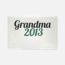 Grandma 2013 Rectangle Magnet