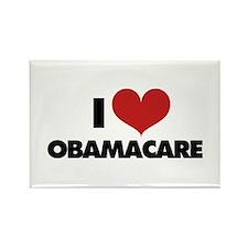 I love Obamacare Rectangle Magnet