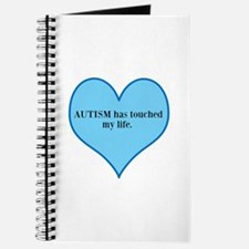 AUTISM has touched my life. Journal