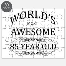 World's Most Awesome 85 Year Old Puzzle