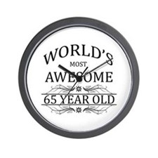 World's Most Awesome 65 Year Old Wall Clock