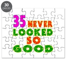 35 Birthday Designs Puzzle
