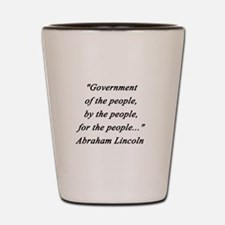 Lincoln - Of the People Shot Glass