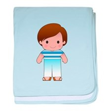 Poppy Greek Boy baby blanket