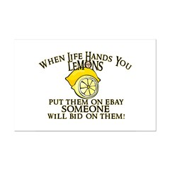 When Life Hands You Lemons Posters