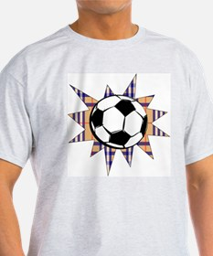 Futbol Hooligan #2 Ash Grey T-Shirt