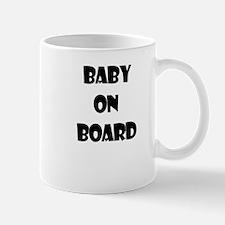 BABY ON BOARD Mug