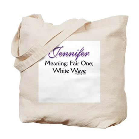 name meaning tote bag by ironydesigns
