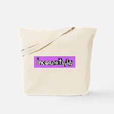 Incompatible Tote Bag