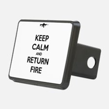 Keep Calm and Return Fire Hitch Cover