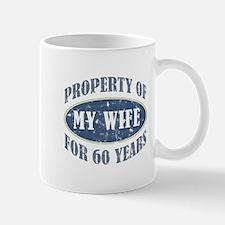 Funny 60th Anniversary Mug