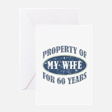 Funny 60th Anniversary Greeting Card