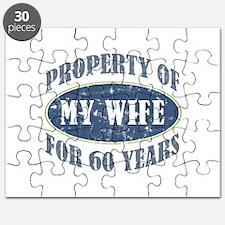 Funny 60th Anniversary Puzzle