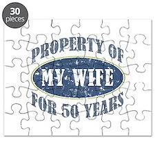 Funny 50th Anniversary Puzzle