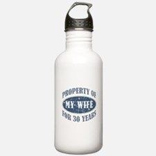 Funny 30th Anniversary Water Bottle