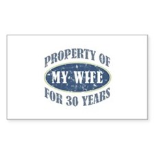 Funny 30th Anniversary Decal