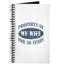 Funny 30th Anniversary Journal