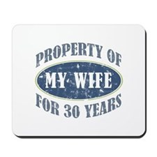 Funny 30th Anniversary Mousepad
