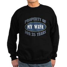 Funny 25th Anniversary Sweatshirt