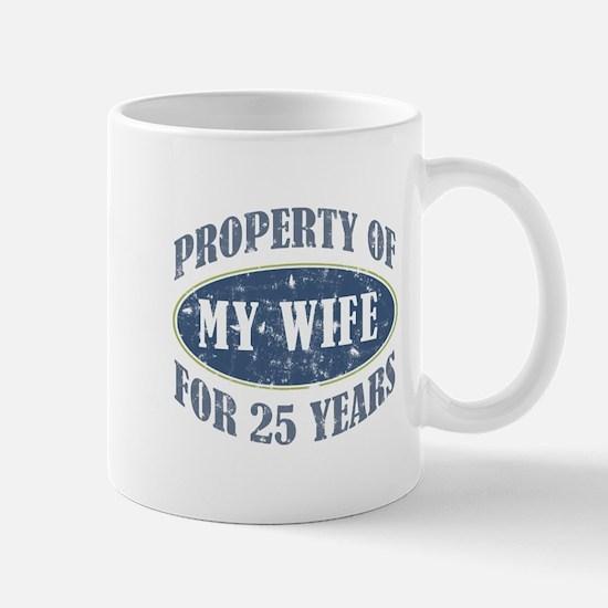 Funny 25th Anniversary Mug