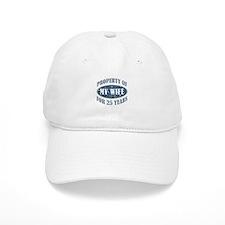 Funny 25th Anniversary Baseball Cap