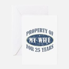 Funny 25th Anniversary Greeting Card