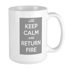 Keep Calm and Return Fire Mug