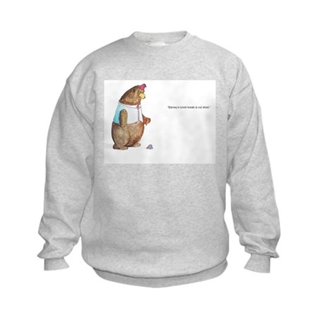 Barney the Bear Kids Sweatshirt