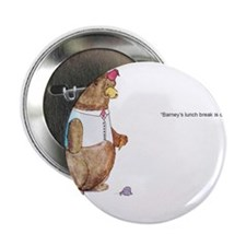 "Barney the Bear 2.25"" Button"